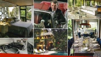 Conocé por dentro la opulenta mansión de cinco plantas de Pancho Dotto. (Foto: revista ¡Hola! Argentina)