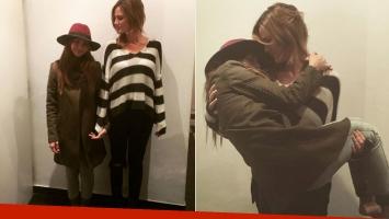 La China Suárez compartió fotos de su reunión con Paula Chaves (Foto: Instagram)