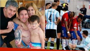 El padre del Kun Agüero habló de la agresión que sufrió la familia de Lionel Messi. Foto: Web