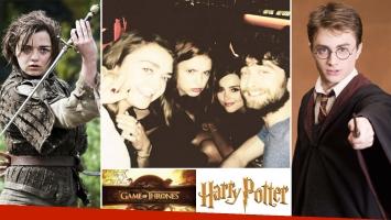 El día que Game of Thrones se cruzó con Harry Potter. (Foto: Instagram)
