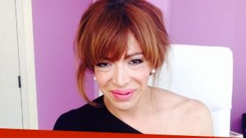 Lizy Tagliani fue dada de alta de su operación de apendicitis. Foto: Web