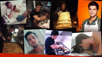 Las fotos de entrecasa de Alejo de MasterChef, el participante más polémico del reality. (Foto: Twitter)
