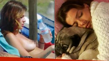 Después del topless en Marbella, la China Suárez terminó en cama: