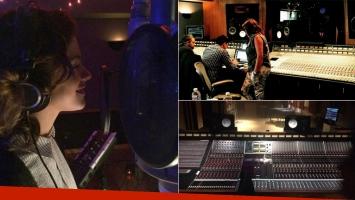 Tini Stoessel graba su primer disco solista en Hollywood: