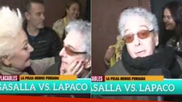 La desubicada y grosera respuesta de Gasalla cuando le preguntaron por su pelea con Claudia Lapacó (Foto: Web)