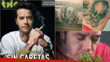Sebastián Ortega es la tapa de agosto de THC, la revista de la cultura cannábica.  Foto: THC