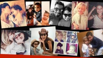 Los famosos celebraron el Día del Niño. (Foto: Instagram)