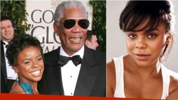 Murió asesinada la nieta de Morgan Freeman: su novio la acuchilló al grito de