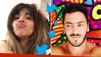 El histeriqueo ¡público! de Gianinna Maradona con su ex por Twitter. Foto: Web.