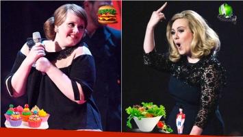 La dieta de Adele con la que bajó 67 kilos: