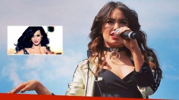 Lali Espósito será telonera de Katy Perry (Foto: Instagram y Web)
