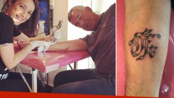 Dady Brieva se hizo su primer tatuaje a los 58 años. (Foto: Twitter)