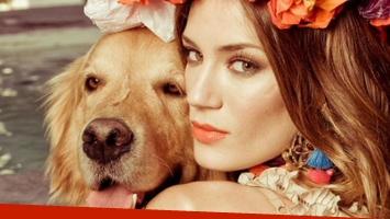 La tristeza de Paula Chaves por la muerte de su perro (Foto: web)