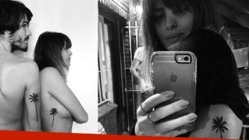 Silvina Luna le dedicó su nuevo tatuaje a su novio (Foto: Instagram)
