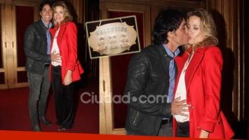 Sebastián Estevanez e Ivana Saccani (Foto: Ciudad.com)