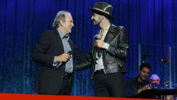 Abel Pintos, invitado de lujo en los shows de Serrat en Madrid. (Foto: Prensa Juan Luvela)