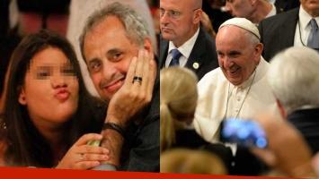 Rial, conmovido con el discurso del Papa en Nueva York. Foto: AFP