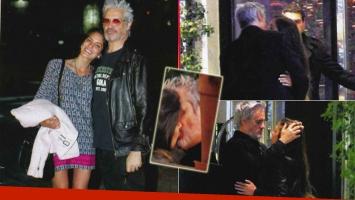 Roberto Pettinato y su novia Lucía (Foto: revista Paparazzi)