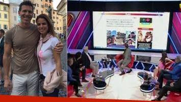Alejandro Fantino analizó la foto del novio de Marina Calabró (Foto: Web)