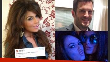 Loly Antoniale y su sugestivo tweet junto a Karina Jelinek. (Foto: Web/ Twitter)
