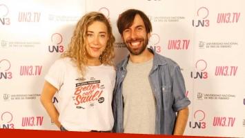 Anita Pauls y Clemente Cancela, cancheros.