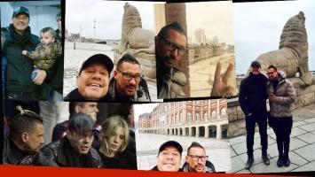 La escapada familiar de Tinelli a Mardel junto a Guillermina, Lolo y el Tirri. (Foto: Twitter)