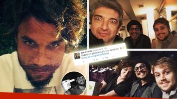 Daniel Osvaldo, encuentro con Ricardo Darín en España… y una frase suspicaz. (Foto: Instagram)