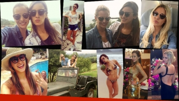 Alejandra y Giuliana Maglietti, diosas en Brasil. (Foto: Instagram)