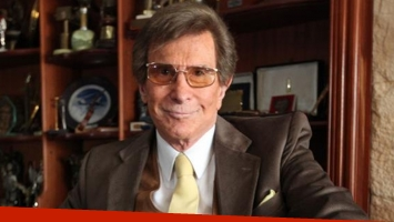 Silvio Soldán, internado de urgencia por un cuadro febril en Bariloche (Foto: Web)