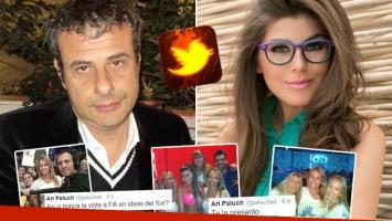 Los picantes tweets de Ari Paluch contra Loly Antoniale por el escándalo de Bailando 2014. (Foto: Web)