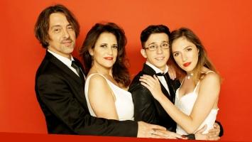 Esteban Prol, María Fernanda Callejón, Candela Vetrano y Rodrigo Noya. (Foto: gentileza prensa)