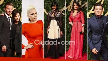 Los famosos más top en los British Fashion Awards 2015. (Fotos: AFP)