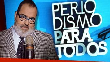 Jorge Lanata anunció el final de Periodismo Para Todos (Foto: Web)
