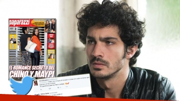 Chino Darín y los rumores de romance con Maypi (Foto: Web, Twitter y Paparazzi)