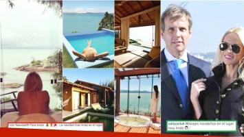 El exclusivo resort de Brasil donde Luciana Salazar y Martín Redrado festejaron la Navidad (Fotos: Web e Instagram)