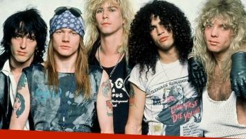 Guns N' Roses regresa a los escenarios con su formación original. Foto: Web