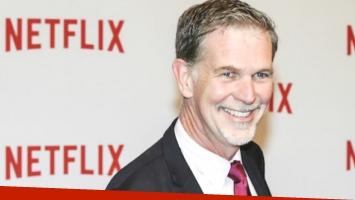 El creador de Netflix, en Argentina. Foto: Web