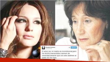 La reacción de Pampita tras las fuertes declaraciones de su mamá (Fotos: Web y Las últimas noticias)