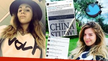 La particular decisión alimenticia de Gianinna Maradona: las críticas 2.0 y el divertido cruce con Dalma. (Foto: Web)