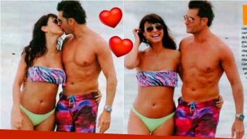 ¡Van en serio! Andrea Estevez presentó a su nuevo novio: besos en la playa, mimos y planes de convivencia. Foto: Paparazzi