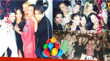 El cumpleaños adelantado de Pampita en Punta del Este (Fotos: Instagram)