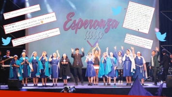 Los tweets de los actores de Esperanza mía tras del gran final (Foto: Prensa El Trece)