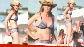 Las vacaciones familiares de Verónica Lozano en Punta del Este (Fotos: revista Paparazzi)