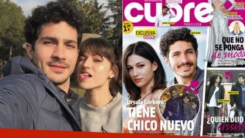 El Chino Darín ¿de novio con Úrsula Corberó? (Foto: Instagram y revista Cuore)