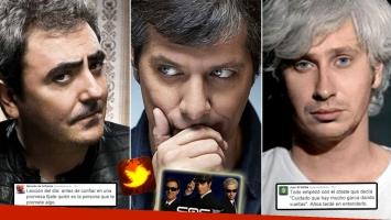 Eduardo de la Puente y Juan di Natale, sus picantes tweets ¿contra Mario Pergolini? (Foto: Web)