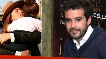 Nicolás Cabré elogió a La China Suárez como madre (Foto: web)