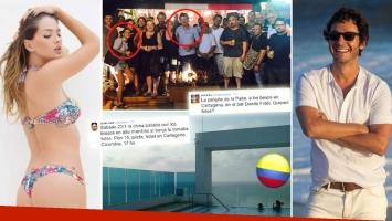 China Suárez y Benjamín Vicuña, juntos en Colombia: rodaje en Cartagena ¿y besos fuera de ficción? (Foto: Web)