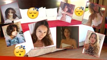 Las fotos de las famosos recién levantadas (Foto: Web, Twitter e Instagram)
