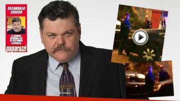 Alfredo Casero, a los gritos en la calle en la casa de su pareja: acusación de infidelidad y video. (Foto: Web)