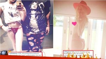 La foto retro y hot de Militta Bora en Instagram (Fotos: Instagram)
